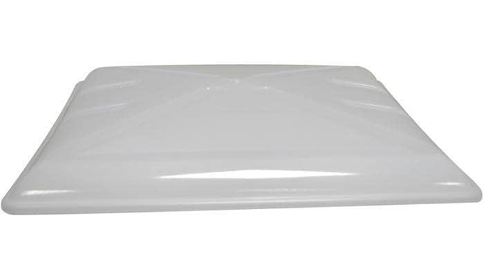 Ersatzmilchglas MPK fALr Dachhaube 40x40cm mit BeschlA¤gen, grau