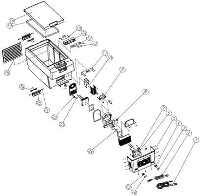 Dometic Anschlusskabel 230v F R Tropicool K Hlboxen Von