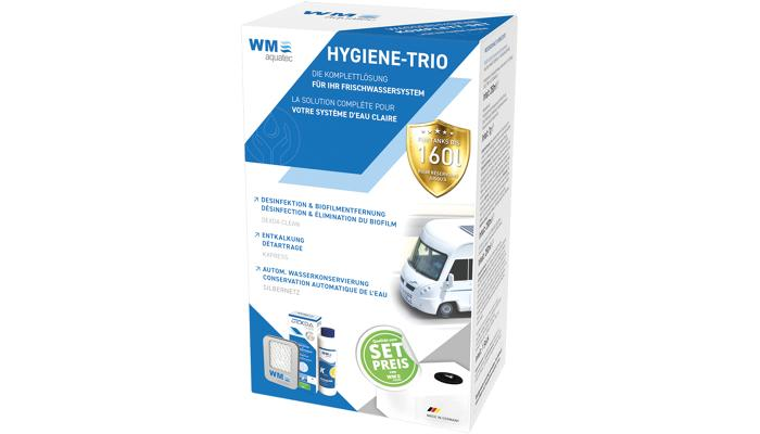 WM Aquatec Hygiene-Trio bis 120 l Tanks
