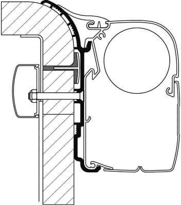 adapter markise omnistor preisvergleiche. Black Bedroom Furniture Sets. Home Design Ideas