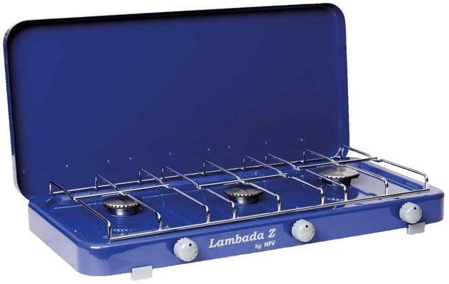 hpv lambada gaskocher 3 flammig 50mbar blau von hpv bei. Black Bedroom Furniture Sets. Home Design Ideas