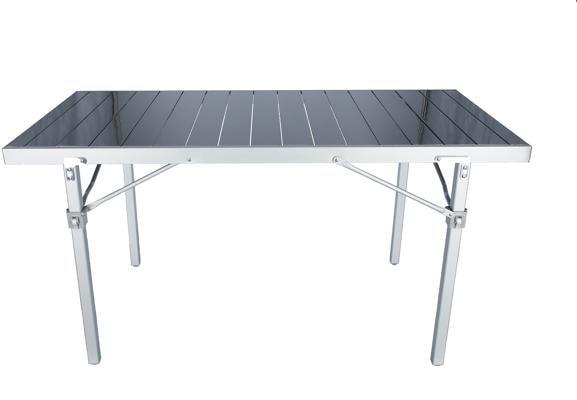 Brunner titanium quadra 6 ng campingtisch 147x73x72cm von for Table titanium quadra 6 personnes