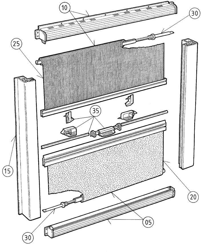 Teilesatz Dometic Seitz Ersatzteil Nr Bg1097 F R