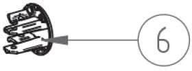 Frontblendenendkappen Satz Thule Ersatzteil Nr