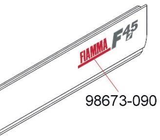 Aufkleber Fiamma Fiamma Ersatzteil Nr 98673 090