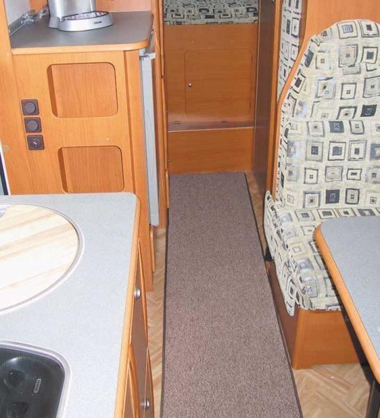 wohnraum teppich 100x50cm grau von arisol bei campingshop wagner campingzubeh r. Black Bedroom Furniture Sets. Home Design Ideas