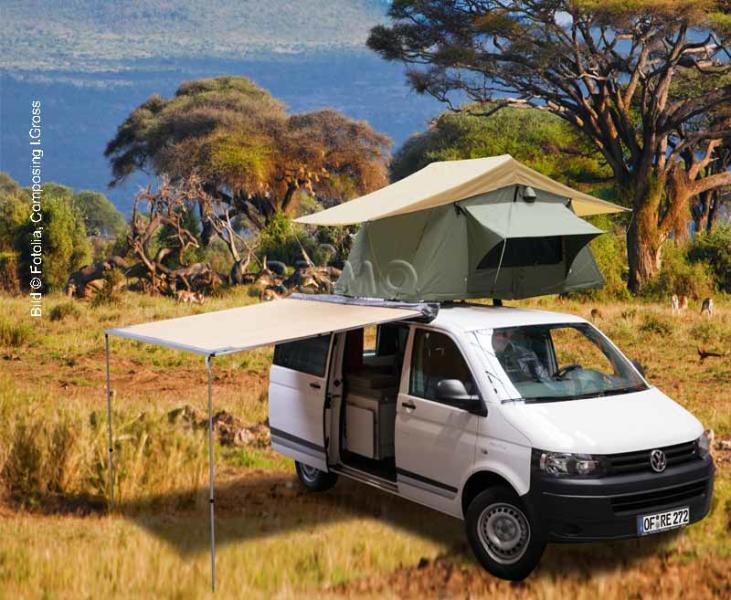 reimo outback 2 5 markise f r mini camper vans suvs und. Black Bedroom Furniture Sets. Home Design Ideas