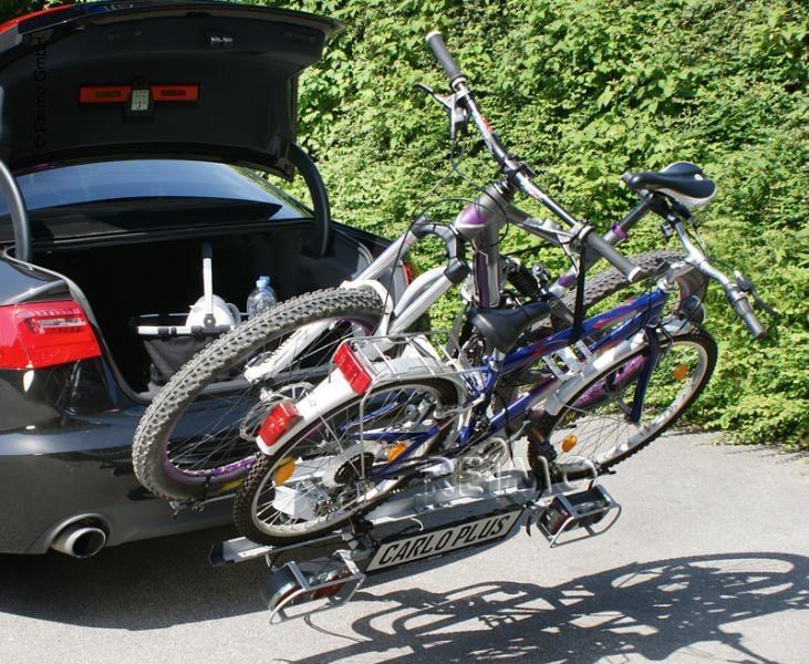 eufab carlo plus fahrradtr ger 2 fahrr der von eufab bei campingshop wagner campingzubeh r. Black Bedroom Furniture Sets. Home Design Ideas