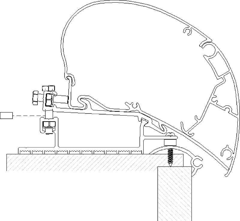 thule omnistor 6200 9200 6002 6900 zusatz adapter f r. Black Bedroom Furniture Sets. Home Design Ideas