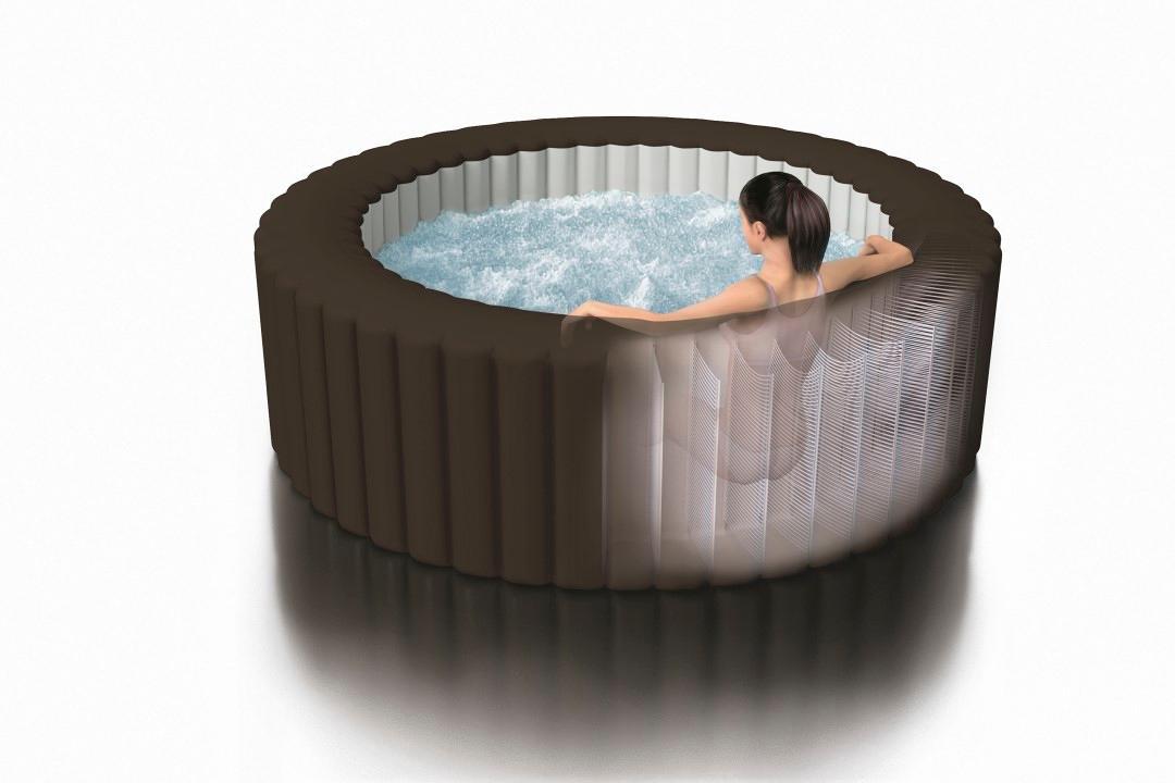 intex whirlpool aufblasbar perfect das bild wird geladen purespa with intex whirlpool. Black Bedroom Furniture Sets. Home Design Ideas
