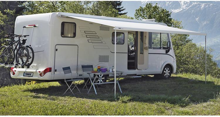 Thule Omnistor 8000 Markise Eloxiert Mit Motor 500cm