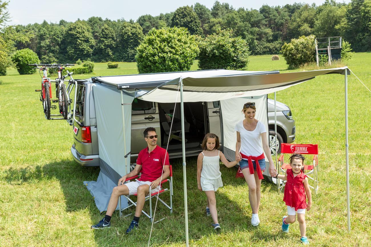 fiamma room van 270 vorzelt f r markise f40 vw t5 t6 270cm von fiamma markisen bei campingshop. Black Bedroom Furniture Sets. Home Design Ideas