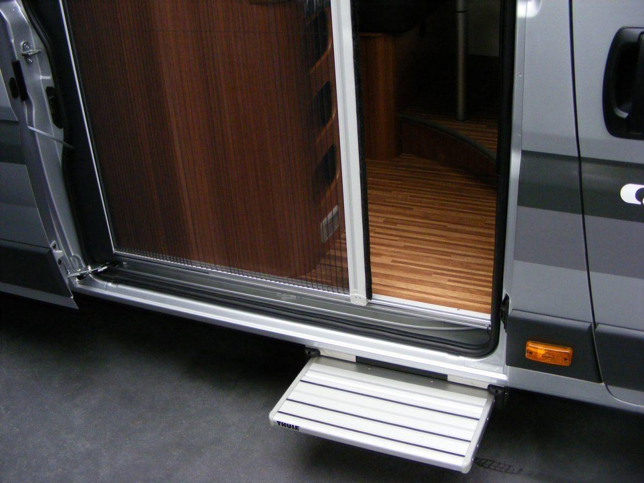 plissee fliegenschutzt r f r schiebet r vw t5 t6 von horrex bei campingshop wagner campingzubeh r. Black Bedroom Furniture Sets. Home Design Ideas