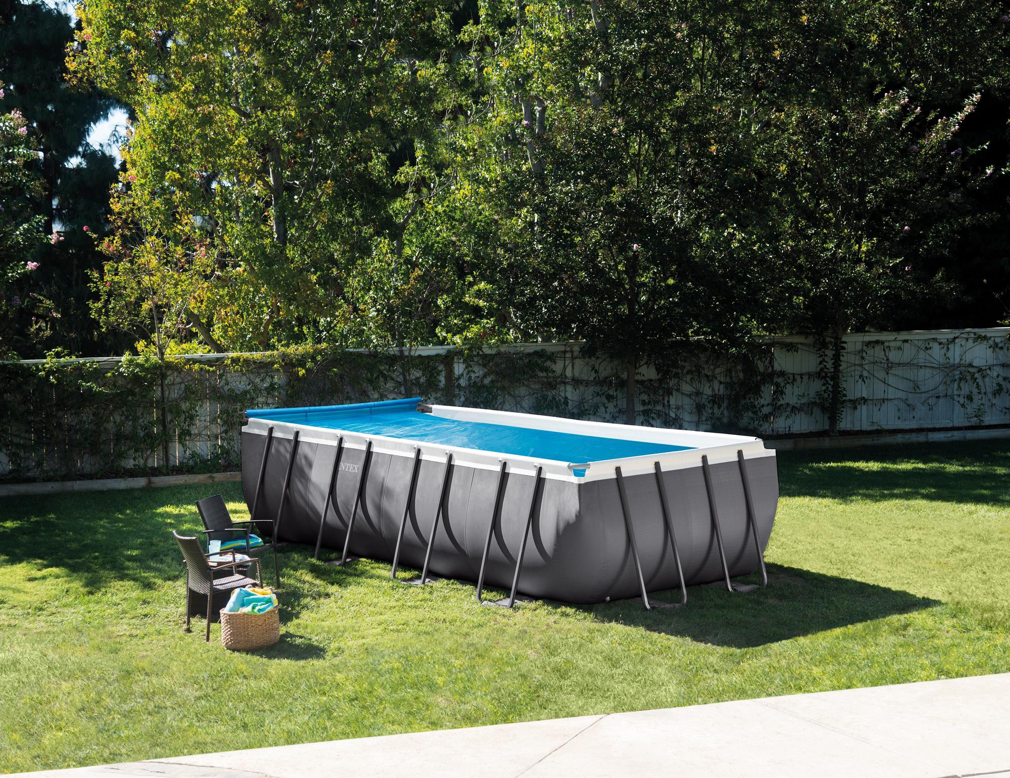 intex ultra frame pool 26352gn 549x274x132cm inkl rcd. Black Bedroom Furniture Sets. Home Design Ideas